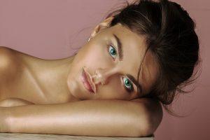 Girl with Nice Skin